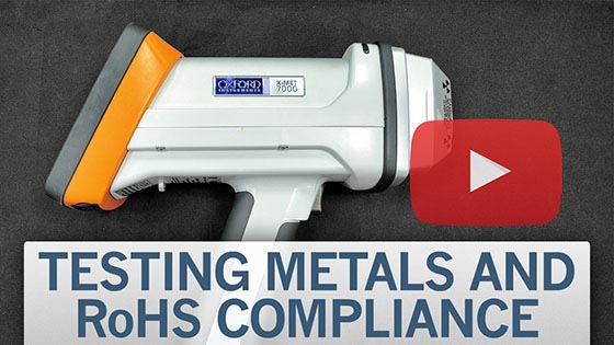testing metals and RoHS compliance