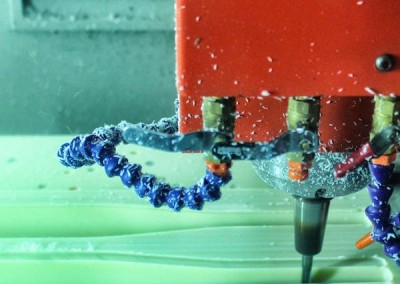 CNC milling of ABS material